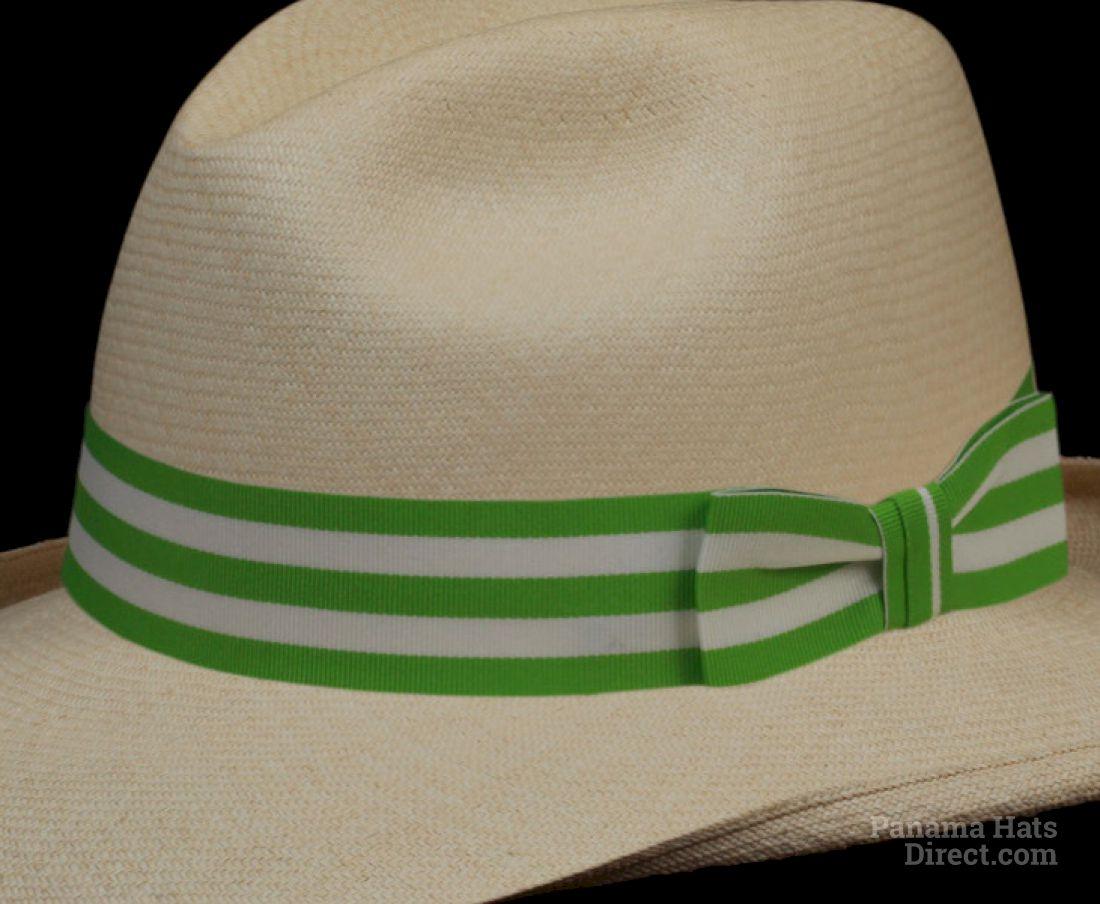 Lime White Stripe Band