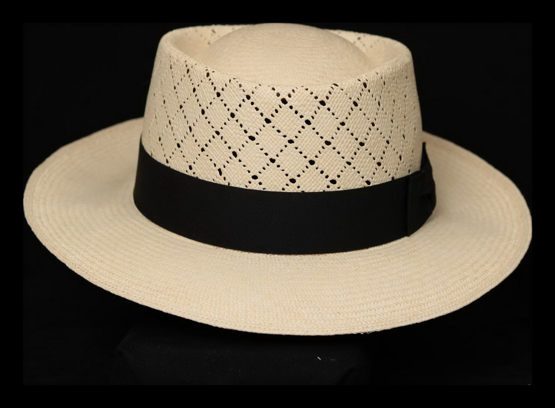 Montecristi Fino Gambler Panama Hat
