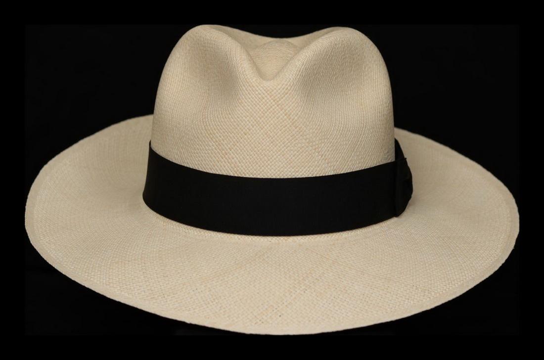 Montecristi Single Woven Grade 1 Havana Panama Hat
