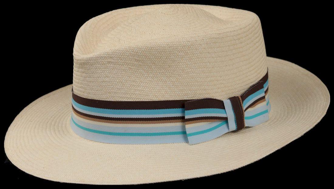 Montecristi Fino Patron Middle Line Panama Hat
