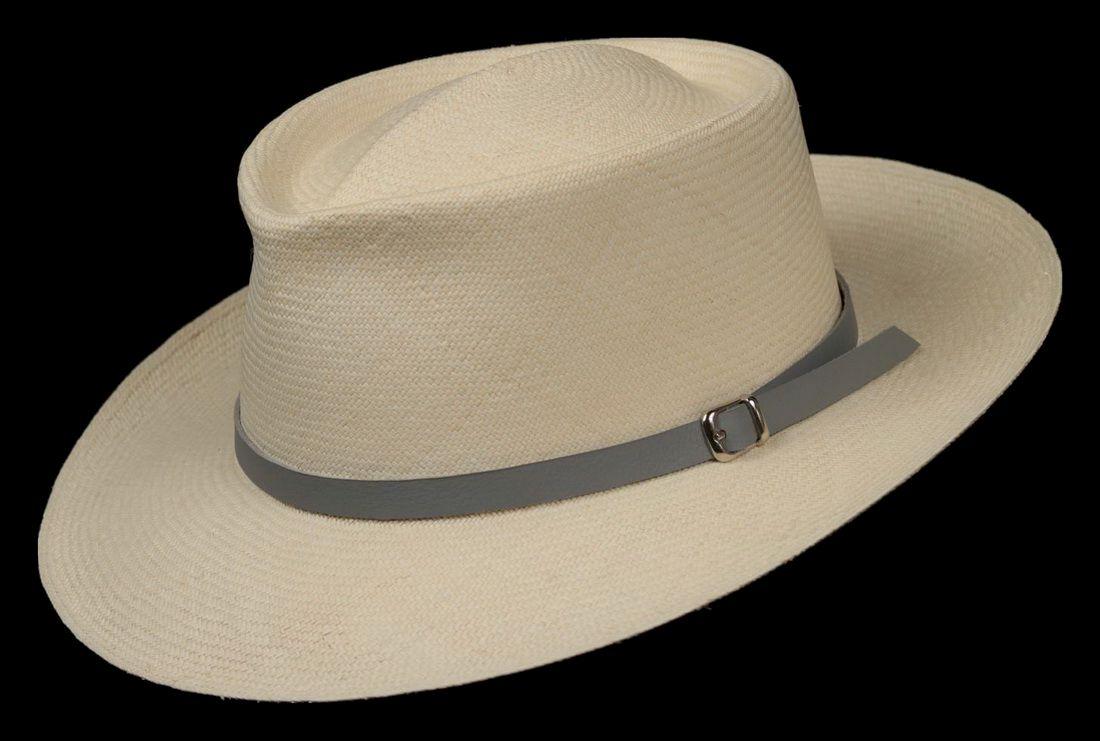 Montecristi Super Fino Patron Middle Line Panama Hat