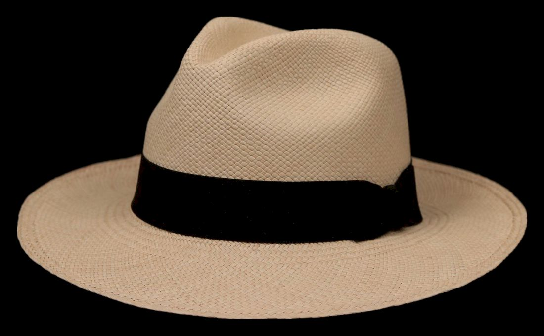 Montecristi Single Woven Grade 1 Classic Fedora Panama Hat